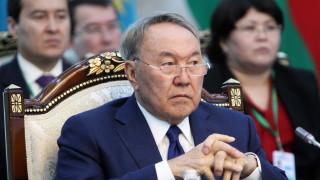 Президентът на Казахстан Нурсултан Назарбаев хвърли оставка