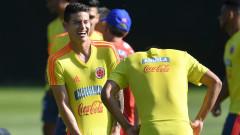 В Атлетико (Мадрид) ще направят всичко възможно, за да привлекат Хамес Родригес