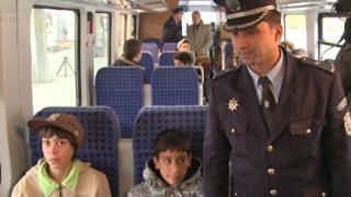 Над 163 счупени влакови стъкла от хвърлен камък през 2008-а