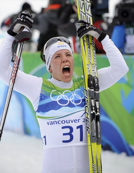 Шарлот Кала спечели златото в ски-бягането на 10 км