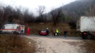 Жертва и двама ранени при тежка катастрофа край Кресна