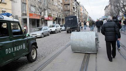 Близо 50 арестувани след вчерашните протести