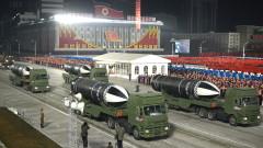 С нощен военен парад КНДР отбеляза 73 г. от основаването си