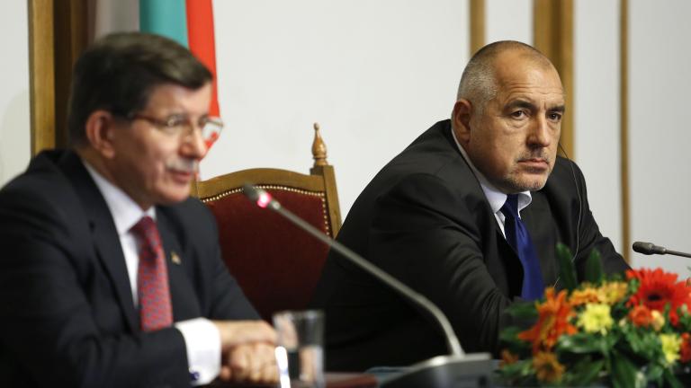 Борисов: Говорих лично с Давутоглу да ни дадат ваксини