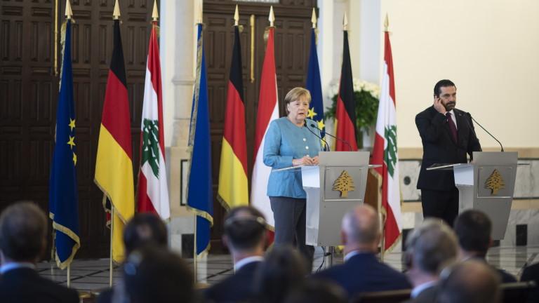 Канцлерът на Германия Ангела Меркел омаловажи шансовете за голяма пробив