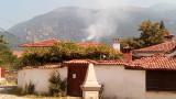 Пожарът над Карлово е потушен
