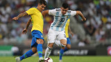 Късен гол реши класиката между Бразилия и Аржентина