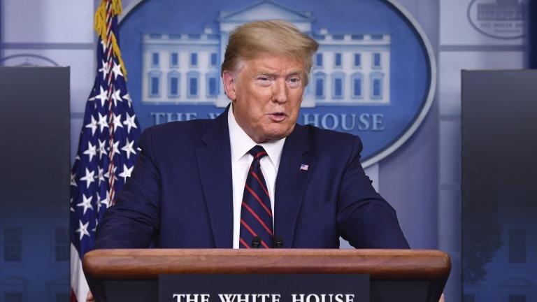 Президентът на САЩ Доналд Тръмп в четвъртък обяви в Белия