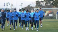 Ключов футболист на Левски вече тренира с основната група