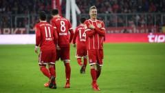 Байерн (Мюнхен) помете Аугсбург с 3:0