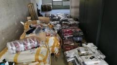 Задържаха над 35 хил. фалшиви контрабандни стоки на ГКПП Лесово