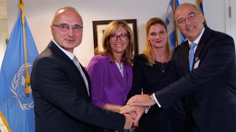България, Гърция, Румъния и Хърватия искат Албания и Северна Македония в ЕС