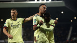 Арсенал показа мощ, но за Купата на Лигата