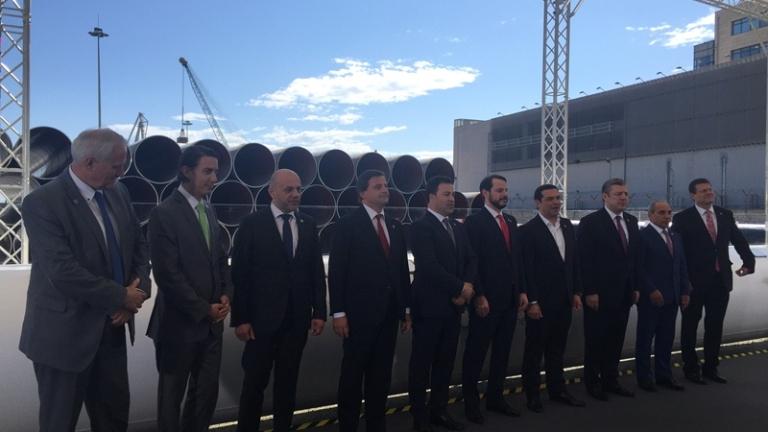 Тръгна строителството на ТАП. България ще получава газ през Гърция