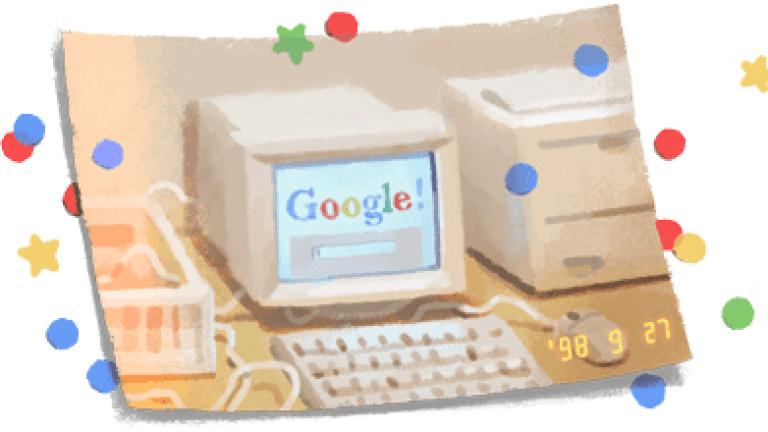21-ви рожден ден на Google