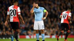 Агуеро пропуска мача със Стоук, под въпрос е и за контролите на Аржентина