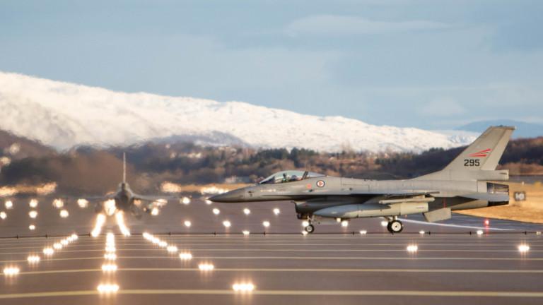 Белгийските ВВС, които влизат в състава на НАТО, са прихванали