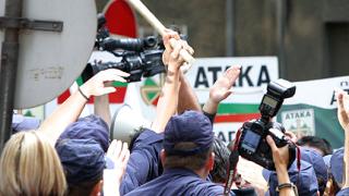Меле пред 5 РПУ след арест на атакаджии