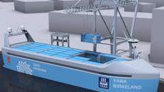 Първият автономен кораб ще бъде пуснат на вода догодина