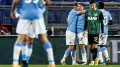 Пълен обрат и четвърта поредна победа за Лацио