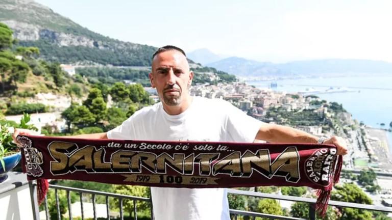 Франк Рибери вече е футболист на Салернитана