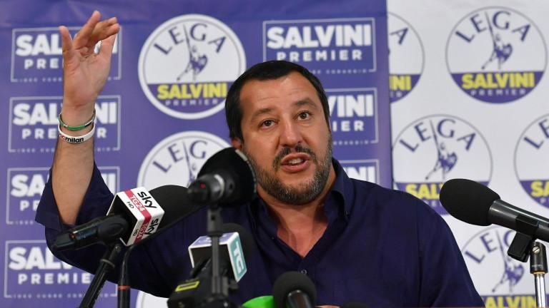 """В Италия """"Лига"""" и Движение """"Пет звезди"""" преговарят за коалиционно правителство"""