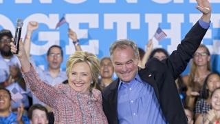 Сенатор Тим Кейн е изборът на демократите за вицепрезидент на САЩ