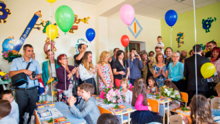 Fibank подари нова учебна стая на столични първокласници