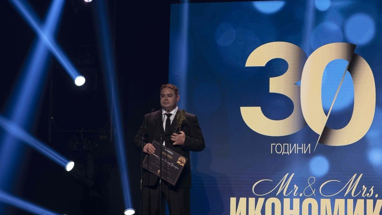 Изпълнителният директор на Теленор България Джейсън Кинг получи награда Бизнес