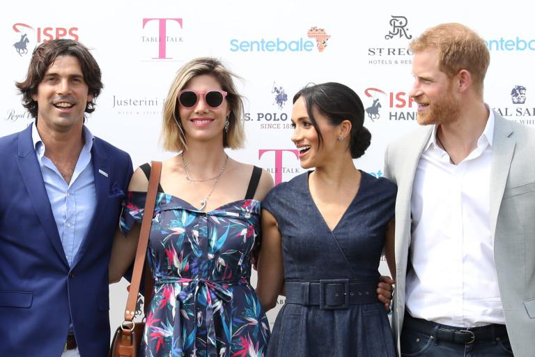 Хари, Меган, Начо и съпругата му