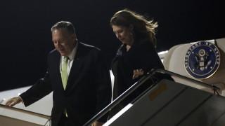 Помпео пристигна в Атина при  изключителни мерки за сигурност
