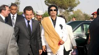 Арестуваха Саркози заради получаване на пари от Кадафи