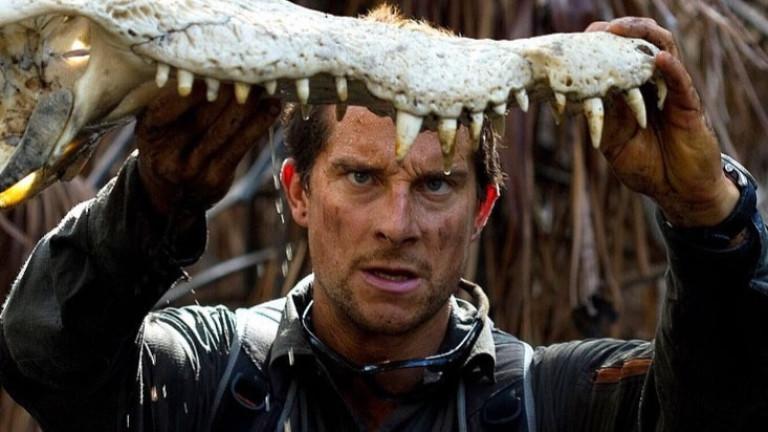 Беър Грилс разнищва филмите с оцеляване