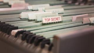 Секретни документи за британския разрушител в Черно море - забравени на автобусна спирка