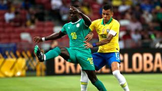 Сенегал измъкна престижно равенство от контролата си с Бразилия
