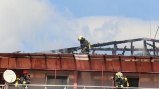 Пожар в старчески дом се размина без жертви
