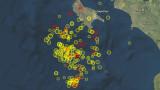 Над 130 земетресения край Закинтос за последната седмица