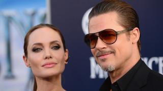 С какво Брад Пит заплаши Анджелина Джоли