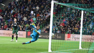 Георги Миланов с 90 минути при победа на ЦСКА (Москва) (ВИДЕО)