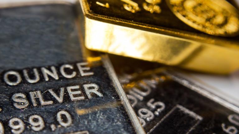 Унция злато достигна рекордните 126 унции сребро