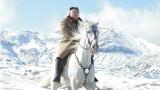Ким Чен-ун язди породисти коне от Русия