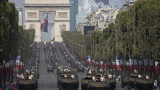 Гаф на военния парад във Франция