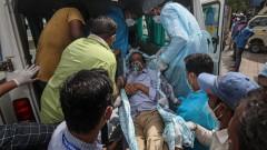13 болни от COVID-19 загинаха при пожар в болница в Индия