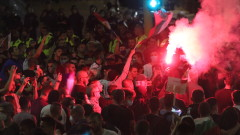 """Искат """"задържане под стража"""" за четирима, буйствали на протеста в София"""