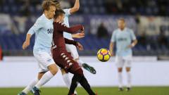 Лацио допусна загуба от Торино с 1:3