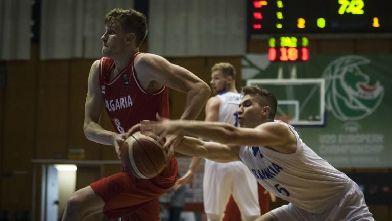 Българският национален отбор по баскетбол до 20 години записа стратегическа