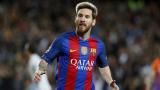 Меси с нов рекорд - 100 гола в 118 международни срещи за Барса