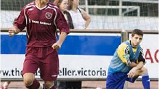 Феновете на Хартс пожелаха Костадинов в първия отбор
