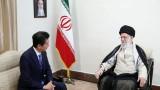 Шиндзо Абе се срещна с върховния лидер на Иран по време на историческа визита