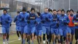 """Левски се премести на изкуствения терен на """"Герена"""""""